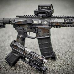 Airsoft Guns, Weapons Guns, Guns And Ammo, Combat Gear, Fire Powers, Custom Guns, Military Guns, Cool Guns, Assault Rifle