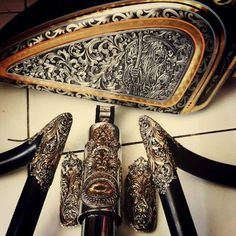 Harley Davidson Bike Pics is where you will find the best bike pics of Harley Davidson bikes from around the world. Custom Harleys, Custom Bikes, Grabar Metal, Harley 48, Moto Fest, Jet Packs, Steampunk, Motorcycle Tank, Motorcycle Parts
