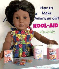American Girl Kool Aid