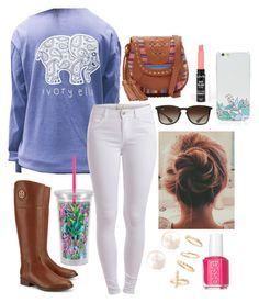 """""""Ivory Ella outfit"""" by lindsayyt8 on Polyvore"""