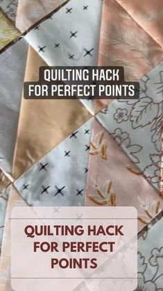 Quilting Tips, Quilting For Beginners, Quilting Tutorials, Quilting Designs, Sewing Tutorials, Sewing Crafts, Sewing Projects, Patchwork Quilting, Machine Quilting Tutorial
