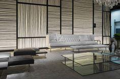 #LivingDivani #Lipp Sofa, #plane & #Upland Seating Areas, Lounge Seating, Living Divani, Living Rooms, Room Interior, Interior Design Living Room, Wall Textures, Sliding Wall, Lobby Lounge