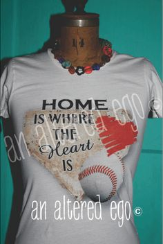 Home is Where the Heart Is (Baseball)-baseball mom