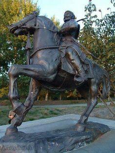 छत्रपती शिवरायांचा अमेरिकेतील सॅन जोस,कॅलिफोर्निया मधील गुडालूपे पार्क मधील पुतळा !!