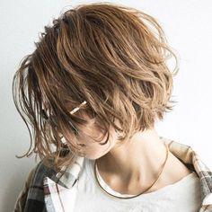 Japanese Short Hair, Asian Short Hair, Shot Hair Styles, Long Hair Styles, Pretty Hairstyles, Bob Hairstyles, Mi Long, Cut And Style, Short Hair Cuts