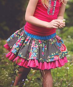 Look at this Black Lily Skirt - Infant, Toddler & Girls on #zulily today!