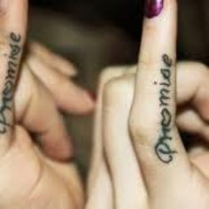Pinky promise great for couples or bffs