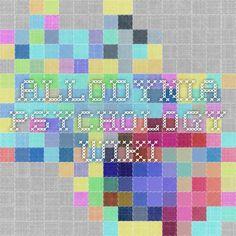 Allodynia - Psychology Wiki