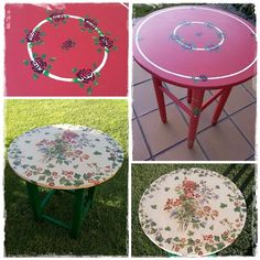 Una decoración muy especial para dos mesas camilla