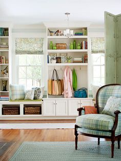 Built-In Storage Ideas
