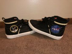 0a1a3de009 Details about Vans x Space Voyager SK8-HI 46 MTE DX NASA Black White  VN0A3DO5UO3 Size 7.5-13
