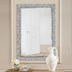 Top Product Reviews for Abbyson Radiance Round Wall Mirror   Overstock.com   15588665 Round Wall Mirror, Dresser With Mirror, Round Mirrors, Lattice Wall, Mirror Shop, Mosaic Designs, Home Decor Outlet, Angles, Design Inspiration