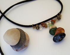 Mixed Gemstone Boho Chic Necklace - Birthday, Anniversary, Christmas, Mother's…