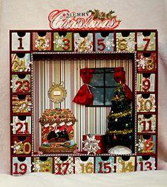 Christmas Advent Calendar from Kaisercraft