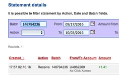 ACX is the MOST POWERFUL & SIMPLEST PROGRAM ONLINE! New 30/70 Rule GUARANTEES... Here is my Withdrawal Proof from AdClickXpress. I get paid daily and I can withdraw daily. Online income is possible with ACX, who is definitely paying - no scam here.I WORK FROM HOME less than 10 minutes and I manage to cover my LOW SALARY INCOME. https://twitter.com/DSamcovic/status/782701695570673665