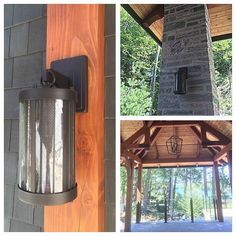 Lighting is one of our things. Just a few of the ones we like. Nice job Tamarack North. #Muskoka #cottagestyle #lights