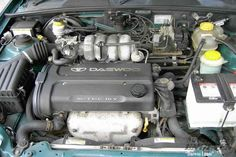 #SouthwestEngines daewoo Lanos.1,598 cc 1.6 liters in-line 4 front engine with 79 mm bore