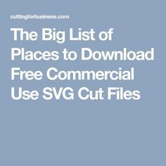 Commercial Use Cut Files for Silhouette or Cricut - Cutting for Business Cricut Vinyl, Svg Files For Cricut, Cnc, Cricut Help, Image Font, Silhouette Cutter, Silhouette Curio, Cricut Tutorials, Cricut Ideas