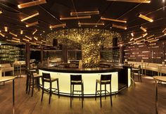 Check out this restaurant/bar design!