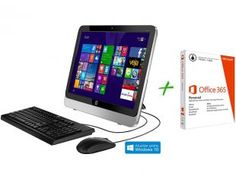 Computador All in One HP 19-2200br Intel Core i3 - 4GB 500GB + Pacote Aplicativo Office 365 Personal