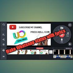 Umer Official: How to make video lyrics editing on Kinemaster Made Video, Lyrics, Quotes, How To Make, Quotations, Song Lyrics, Quote, Shut Up Quotes, Music Lyrics