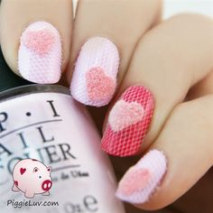 Fuzzy nails by PiggieLuv from Nail Art Gallery