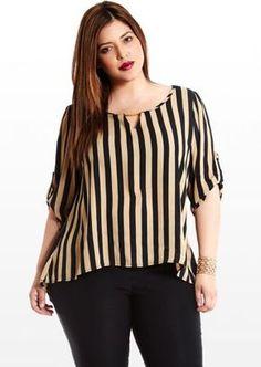 Plus Size Tops for Women, Sexy & Basics Plus Size Tips, Looks Plus Size, Plus Size Model, Plus Size Blouses, Plus Size Dresses, Plus Size Outfits, Trendy Tops, Trendy Plus Size, Cool Outfits
