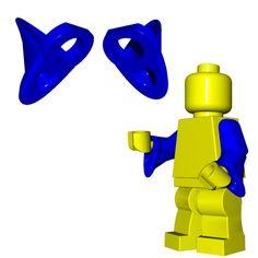 Wizard Weapons for LEGO® Minifigures Cool Lego, Cool Toys, Lego Motorbike, Iron Man Cartoon, Lego Craft, Lego Storage, Lego Design, Lego Parts, Lego Projects