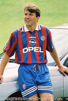 Lothar Matthäus Bayern München 1995-96 seltenes Foto