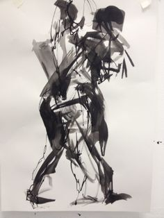 creative life drawing with London Drawing layered ink madebyharry