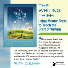 27 Best How To Be A Writing Thief Images On Pinterest Mentor Texts