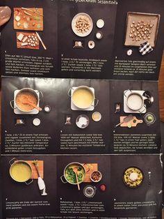 nice recipes and inspiration from Kochhaus @ Gärtnerplatz Munich