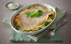 All-Green Vegetable Lasagna - San Remo Lemon Chicken, Grilled Chicken, Vegan Vegetarian, Vegetarian Recipes, Vegetable Lasagne, Baked Pasta Recipes, Drying Pasta, Pasta Bake, Meatless Monday