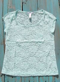 Cowgirl Lace Top perfect for layering or wear with a tank pair with your jeans or jean shorts and chunky cowgirl jewelry to complete the look $11.99