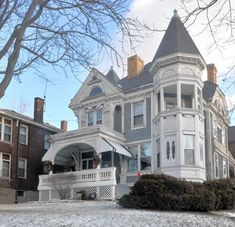 100s of Victorian Homes http://pinterest.com/njestates/victorian-homes/ Thanks to http://www.njestates.net/ Wigman house built in 1889 located in Pittsburgh, PA. Thanks to http://www.njestates.net/real-estate/nj/listings #victorianhouses