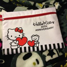 40th Anniversary, Sanrio, Hug, Hello Kitty, Reusable Tote Bags, Snoopy, Instagram Posts, Character, Lettering