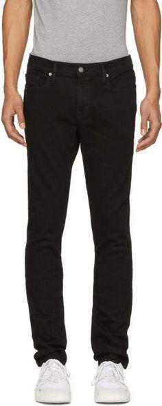 c84d81e4295 Frame Black LHomme Skinny Jeans Black Denim, Frame Denim, Stretch Denim, Skinny  Fit