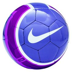 purple soccer ball!
