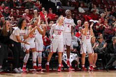The Stanford Women's Basketball team