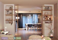 Woonkamer | Living ✭ Ontwerp | Styling ✭ Marijke Schipper http://studiomarijkeschipper.nl/televisie/sub-televise-fotos/11/Gescheiden+ruimte