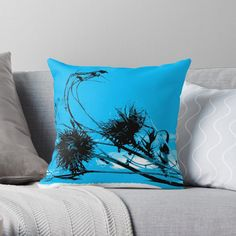 Thistle Seed, Silhouette S, Designer Throw Pillows, Pillow Design, Top Artists, Seeds, Vibrant, Art Prints, Retro