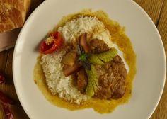 Budapeštianské rezy s ryžou Basmati