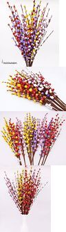 Silk Flowers 16494: Misswarm 10 Pieces Of Plum Blossom Blooms Flower Artificial Flowers Spray For Or -> BUY IT NOW ONLY: $49.49 on eBay!