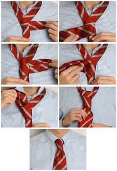 Simple Ways to Tie a Tie 6