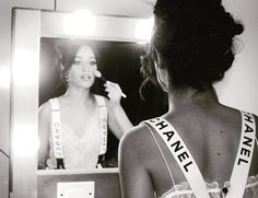 Camila Cabello getting ready to hit the stage