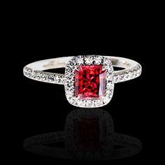 Rare red diamond--kinda what I'm picturing. Yep, yep. I lurve this.