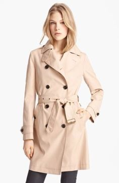 Burberry Trench Coat #Burberry #Trench