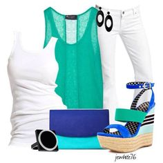 Out fit Set by jewwhite76: #big #girl #fashion #outfit #set
