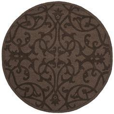 Found it at Wayfair - Impressions Dark Brown Area Rug