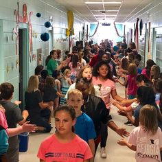 On Friday our fifth graders walked the halls of LPE for one last time. We hope to see you back in 7 years in your cap and gown. #sweetmemories #elementaryschoolyears #newtradition #learningatlpe
